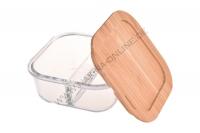 Lavi-Quadratische Glasaufbewahrungsbox 740 ml