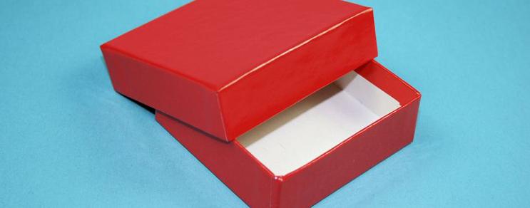 Geschenkbox 7,6x7,6x2,5 cm