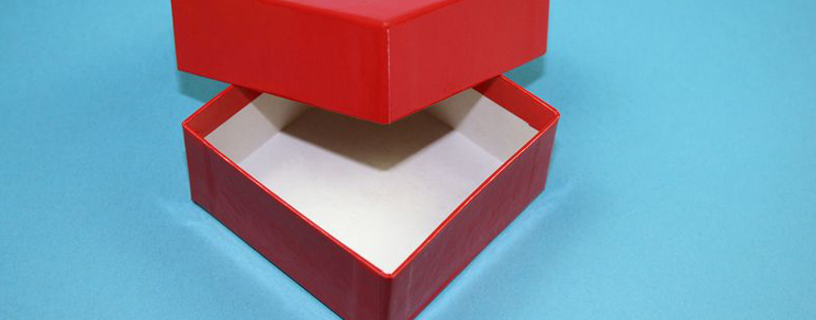 Geschenkbox 7,6x7,6x3,2 cm