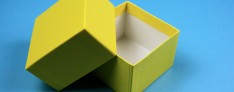 Gift box 13,6x13,6x5 cm