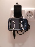 BlackBerry Handysteckdosenhalter (weiß)