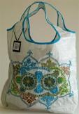 Strandtasche türkis- Indien Summer